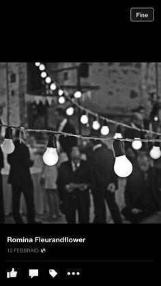 Matrimonio Vintage fili di lampadine da esterno