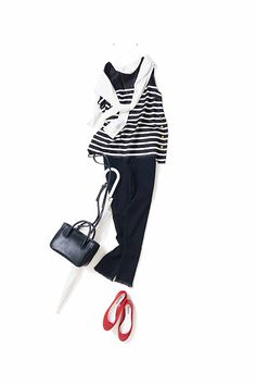 Love the simple but classy look. Fashion Pants, Fashion Outfits, Womens Fashion, Fashion Tips, Fashion Ideas, Ladies Fashion, Japanese Fashion, Asian Fashion, Classic Outfits