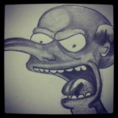 Sr. Burns Simpsons