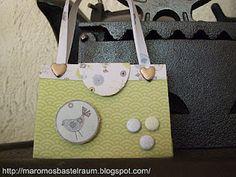 maromo's bastelraum: Kleine Verpackung / Mini Purse