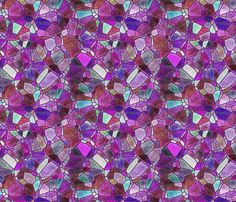 purple and violet by kociara on Spoonflower