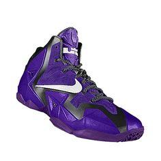 I designed the purple, white and black Grand Canyon Antelopes Nike women's basketball shoe.