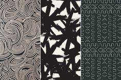 Prints Make Perfect - Graphic Wallpaper's Not Going Anywhere - Lonny