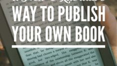 E-Publishing: A New and Lucrative Way to Publish Your Own Book