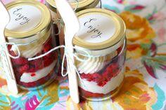 Red Velvet in a jar.