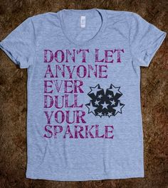 Never ever ever:) So want this shirt!