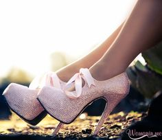 63870d7eb322 Shoes  pump pink strass high heels pink pumps diamonds heels with bows  glitter boots ribbon high
