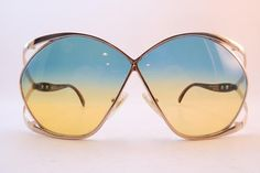 de7a5191c68c Christian Dior France Butterfly Oversized vintage sunglasses