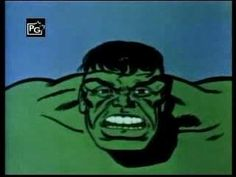 """The Hulk - Cartoon Theme Song. Great use of the the word """"unglamorous."""""""