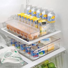 Fridge Binz clean up a fridge in no time. Beautiful -- combine products for that special meal -- so many ways to organize