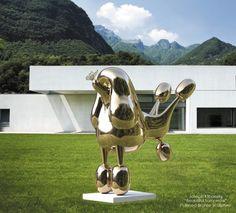 Polished Bronze - Beautiful Tomorrow by Joseph Klibansky