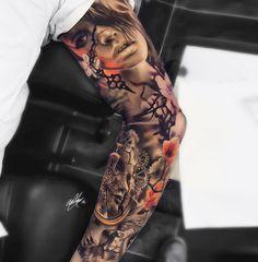 art-by---gary-mossman---sleeve-tattoo------21112016162824.jpg (1040×1060)