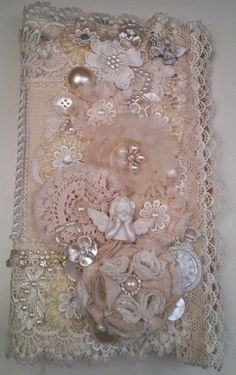 MsGardenGrove:  Gorgeous Fabric  book created by Linda