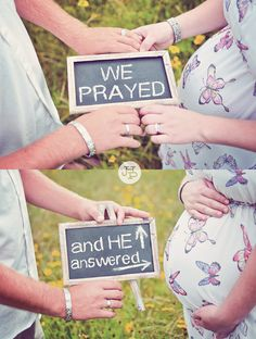 Love this! :) Sharing this idea with my family who waited for God's timing and kept the faith which now blessed them with a beautiful baby!