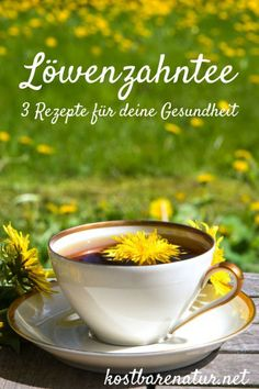 Organic Dandelion Root Tea Benefits: Science Backed? Organic dandelion root tea benefits include everything from improving lactation to killing aggressive cancer cells. It's been used for at least 2000 years. Lemon Benefits, Coconut Health Benefits, Dandelion Root Tea, Eco Slim, Types Of Tea, Healthy Oils, Stay Healthy, Healthy Living, Stop Eating