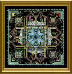 "NEW – ONL 155 – ""The Tinctorium Mandala""   Chatelaine"