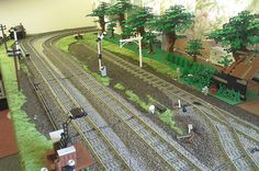Beautiful railroads