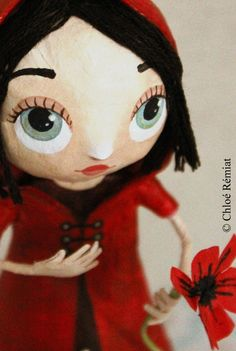 PETIT CHAPERON ROUGE * Little red riding hood