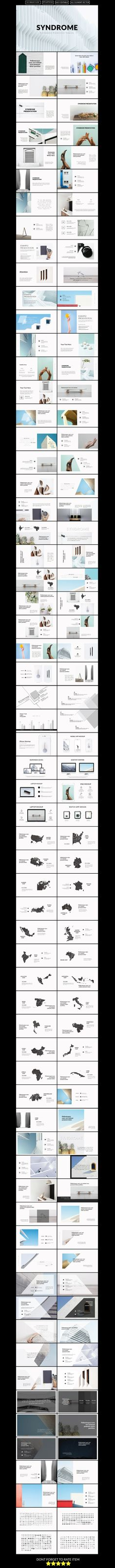 Syndrome Business Powerpoint Template