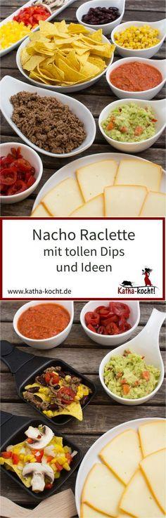 Du suchst ein paar tolle Dips und Ideen für ein unkompliziertes Nacho Raclette? Dann habe ich hier genau das Richtige für dich um ein paar leckere Tortilla Chips im Pfännchen mit reichlich Käse zu überbacken. Das Rezept gibt es auf katha-kocht!