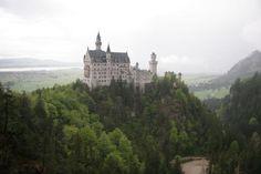 Neuschwanstein Castle in Allgau Bavaria,Germany/20070517