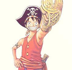 ayyyee captain Luffy