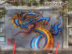 Street Art - Chinatown - San Francisco - 20131203