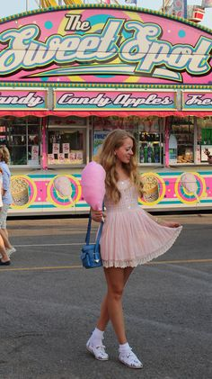 The Sweet Spot candy floss #girly #style