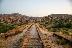 Old Railroad between San Diego and Arizona