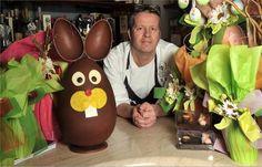 Il pasticcere Ernst Knam e le sue uova di Pasqua