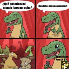 El Dinosaurio Comediante y su nuevo hit Gracias a http://www.cuantocabron.com/ Si quieres leer la noticia completa visita: http://www.estoy-aburrido.com/el-dinosaurio-comediante-y-su-nuevo-hit/
