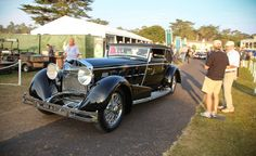 And the Winner Is: Striking 1924 Isotta Fraschini Wins 2015 Pebble Beach Concours D'Élégance Best of Show - Photo Gallery of Auto Show from Car and Driver - Car Images - Car and Driver