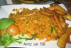 Carolyn in Carolina - My favorite Costa Rican Food - Arroz con Pollo