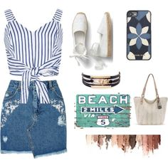 Untitled #5 by georgesusan on Polyvore featuring WithChic, Miss Selfridge, Michael Kors and tarte