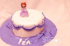 Gâteau de  princesse Sofia