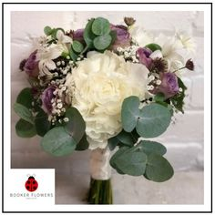 Gorgeous white and purple bridal or bridesmaid bouquet. Wedding Flowers Liverpool, Merseyside, Bridal Florist, Booker Flowers and Gifts, Booker Weddings Pool Wedding, Lilac Wedding, Wedding Bride, Wedding Flowers, Wedding Venues, Dream Wedding, Lilac Roses, White Peonies, Bride Bouquets