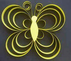 Vlinder knutselen - Make large for spring tea decorations