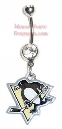 Pittsburgh Penguins Logo belly ring!