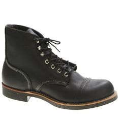 Shop Red Wing Shoes Iron Ranger 8114 Black Harness Leather Boots for Men and Women at http://inf.shoes/1hlH8s8. FREE Shipping, Easy Returns! #RedWing #IronRanger #IronRanger8114 #Boots #Black #Black8114 #Workboots #HarnessLeather #Men #Women #Unisex #Leather #GoodyearWelt #SteelShank #MadeInUSA #Nitrile