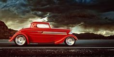 "A Fond : ZZ Top - ""Sharp Dressed Man"" De l'essence dans mes veines Zz Top Car, Zz Top Eliminator, Kitt Knight Rider, Vintage Race Car, Vintage Ads, Car Advertising, Hot Cars, Custom Cars, Muscle Cars"