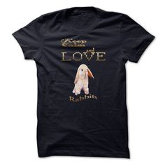 Keep Calm and Love Rabbits - #cool t shirts #army t shirts. SIMILAR ITEMS => https://www.sunfrog.com/Pets/Keep-Calm-and-Love-Rabbits.html?id=60505