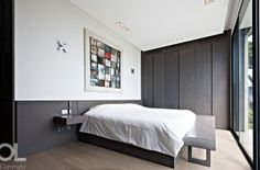 8 Great Decorating Ideas By Hélène et Olivier Lempereur To Inspire You Residential Interior Design, Wardrobe Doors, Waterfront Homes, Decoration, Boudoir, House, Furniture, Bedroom Ideas, Bedrooms