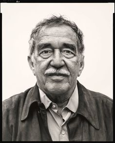 Richard Avedon first photographed Gabriel García Márquez on a rainy day in 1976, but he felt that the portrait was a failure. Avedon finally had another chance to photograph the writer in 2004. This is the portrait that emerged from that second session.