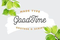 Introducing MADE GoodTime Typeface! GoodTime designed and shared by MadeType. MADE GoodTime - is a monoline script and grotesk font that both work gre. Creative Fonts, Creative Sketches, Handwritten Fonts, Script Fonts, Calligraphy Fonts, Modern Calligraphy, Alphabet, Brush Font, Business Card Logo