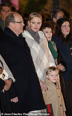 While four-year-old Jacques was present last night, his twin sister Gabriella appeared to ... Royal Family News, Monaco Royal Family, New My Royals, Prince Albert Of Monaco, Charlene Of Monaco, Four Year Old, Hollywood Fashion, Patron Saints, Twin Sisters