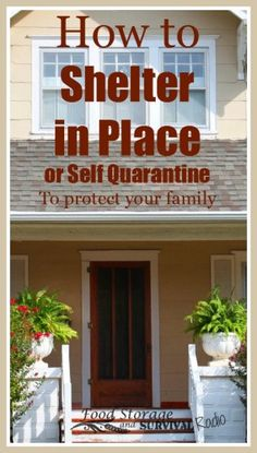 Episode 75: How to Shelter in Place Listen here! What do you need to shelter in place? And what's the difference between quarantine, self-quarantine, and reverse quarantine? In this episode...