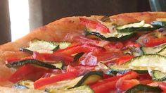 #pizza a #lievitazionenaturale alla #mediterranea