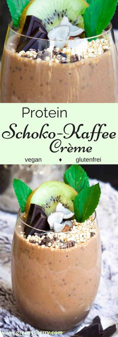 DIY Rezept: Schnelle Protein Schokoladen-Kaffee Crème (vegan & glutenfrei & sojafrei) www.greenysherry.com #vegan #protein #schokolade #kaffee #DIY #Sportnahrung #Fitness 'pflanzenprotein