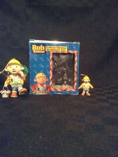 Preowned Bob The Builder 2 Piece Christmas Tree Ornament Characters Hang Kids #KurtAdler