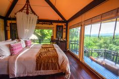 Look for the bare necessities, the simple bare necessities, forget about your worries and your strife. This is what Four Seasons Tented Camp is all about.